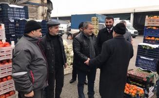 """Milletvekili Fendoğlu'ndan """"hal"""" çağrısı!"""