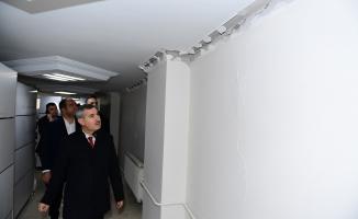 Yeşilyurt'ta depremde zarar gören 24 bina mühürlendi!