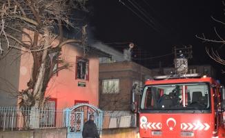 Malatya'da korkunç olay! Babasıyla tartışan şahıs evi ateşe verdi!