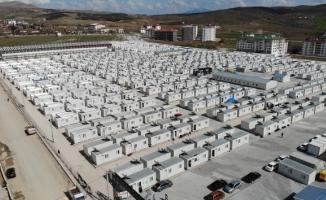 Bin 640 aile konteyner kentlere yerleşti, nakdi yardım 93 milyonu geçti