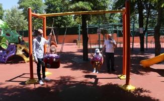 Malatya'da parklardan çocuk sesleri yankılandı!