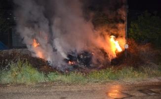 Malatya'da ahır yangını! 9 küçükbaş hayvan telef oldu!