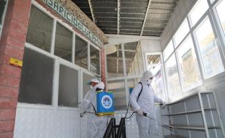 Malatya'da camiler Cuma Namazı'na hazırlanıyor