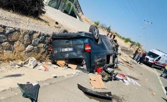 Malatya'da korkunç kaza! 1 ölü, 4 yaralı!