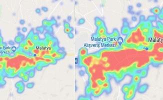 Malatya'da kırmızı bölge yaygınlaşıyor