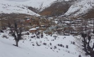 Malatya'ya yılın ilk karı yağdı!