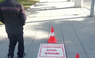Büyükşehir'den 'dumansız hava sahası' uygulaması!