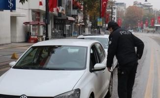 Malatya'da 33 kişiye sokağa çıkma cezası