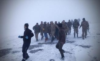 Bitlis-Tatvan kırsalında askeri helikopter düştü: 9 şehit 4 yaralı!