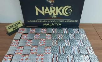 Malatya'da torbacı operasyonunda 2 tutuklama