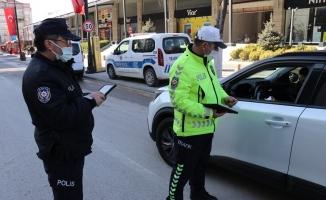 Malatya'da kısıtlamayı ihlal eden 70 kişiye ceza