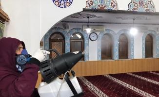 Malatya'da camiler dezenfekte edildi