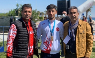 Malatyalı sporcu Avrupa üçüncüsü oldu