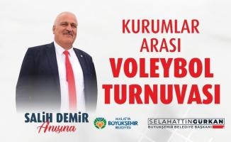 Malatya'da kurumlar arası voleybol ve futbol turnuvası