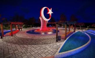 Battalgazi'ye ay-yıldız anıtlı park yapılacak