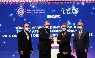 Cumhurbaşkanı Erdoğan'dan Malatyalı İşadamı Ahmet Çalık'a ödül