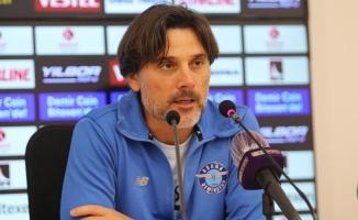 """Vincenzo Montella: """"Kaybettiğimiz için üzgünüz"""""""