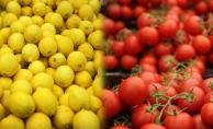 Fiyatı en çok artan limon, en çok düşen domates!
