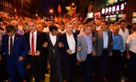 Malatyada Milli Birlik ve Beraberlik yürüyüşü düzenlendi