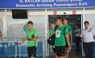 Slovenya temsilcisi Olimpija Ljubljana, Malatya'ya geldi