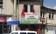 CHP Akçadağ İlçe Başkanlığı'na silahlı saldırı