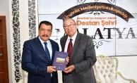 Eski Bakan Emiroğlu'ndan Başkan Gürkan'a ziyaret
