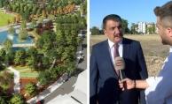 """Malatya """"Millet Bahçesi"""" projesinde son durum…"""