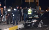 Battalgazi Kavşağı'nda kaza: 3 yaralı!