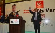 Fatih Erbakan Malatya'da ABD'ye sert çıktı
