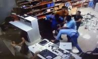 İş yerini basıp öldüresiye dövdüler!