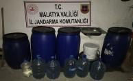 Malatya'da bin litre kaçak rakı ele geçirildi