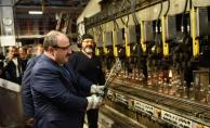 Bakan Varank fabrikalarda inceleme yaptı