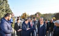 Başkan Gürkan, içme suyu isale hattında inceleme yaptı