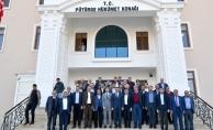 Başkan Gürkan Pütürgeliler ile bir araya geldi