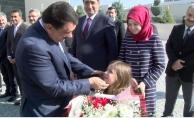 Başkan Gürkan'ın çocuk sevgisi