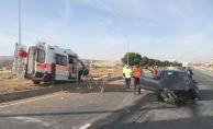 Hasta taşıyan ambulans kaza yaptı: 1'i ağır 7 kişi yaralandı!