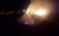 Malatya'da korkutan yangın