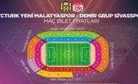 İşte BYMS-D.G.Sivasspor maçının bilet fiyatları!