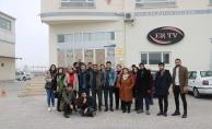 RTS öğrencilerinden ERTV'ye ziyaret!