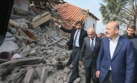 Bakan Soylu:  Evi yıkılanlara 41 bin TL yardım!