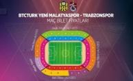 İşte Yeni Malatyaspor-Trabzonspor maçının bilet fiyatları!