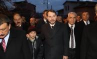 Bakan Albayrak'tan Malatya'daki depremzedelere ziyaret!