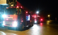 Malatya'da kayısı işletmesi alev alev yandı!