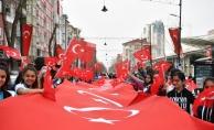 Malatya'da 'İstiklalden istikbale' yürüyüşü