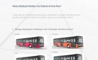 Yeni alınacak otobüslerin rengine halk karar verecek