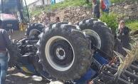 Darende'de feci kaza! Traktör devrildi, baba ve kızı hayatını kaybetti...