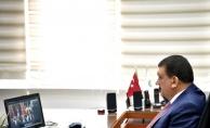 Gürkan, Cumhurbaşkanı Erdoğan'a alınan tedbirleri aktardı