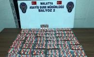 Malatya'da şok uygulamalar! Uyuşturucu hap ve silahlar ele geçirildi