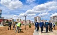Malatya'daki 30 dönümlük park büyük oranda tamamlandı