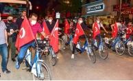 19 Mayıs coşkusu! Gürkan gençlerle birlikte pedal çevirdi